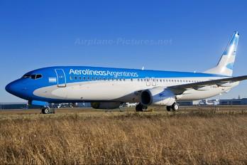 D-ABBZ - Aerolineas Argentinas Boeing 737-800
