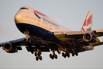 G-CIVR - British Airways Boeing 747-400