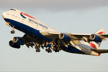 G-BNLP - British Airways Boeing 747-400