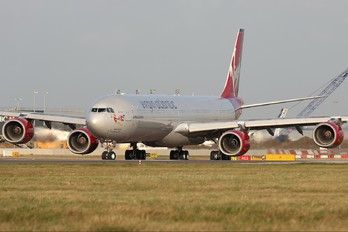 G-VSSH - Virgin Atlantic Airbus A340-600