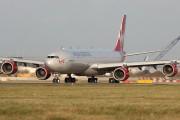 G-VSSH - Virgin Atlantic Airbus A340-600 aircraft