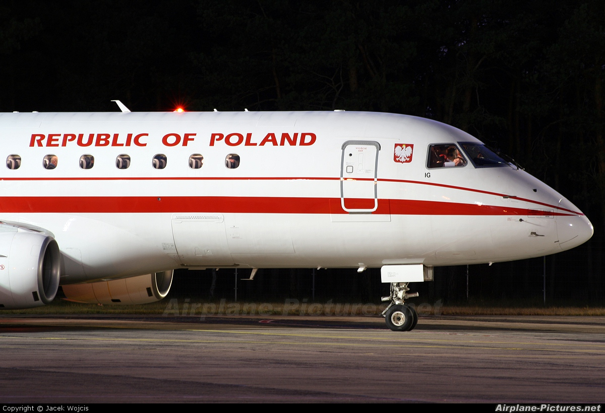 Poland - Government SP-LIG aircraft at Bydgoszcz - Szwederowo