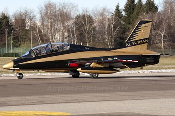 "CSX54508 - United Arab Emirates - Air Force ""Al Fursan&quo Aermacchi MB-339NAT"