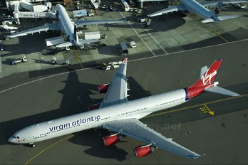 G-VSHY - Virgin Atlantic Airbus A340-600