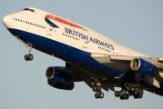 G-BNLL - British Airways Boeing 747-400 aircraft
