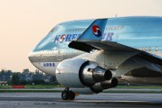 HL7491 - Korean Air Boeing 747-400 aircraft