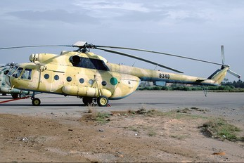 8340 - Libya - Air Force Mil Mi-8