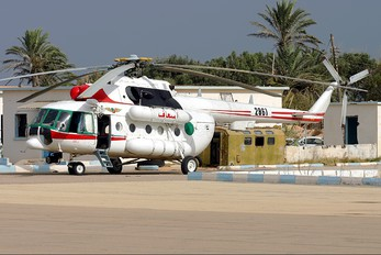 2861 - Libya - Air Force Mil Mi-17