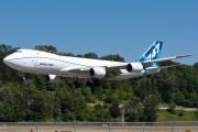 N5017Q - Boeing Company Boeing 747-8F aircraft