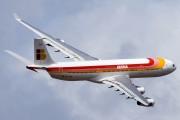 EC-GHX - Iberia Airbus A340-300 aircraft