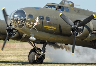 N3703G - Military Aircraft Restoration Corp. Boeing B-17G Flying Fortress