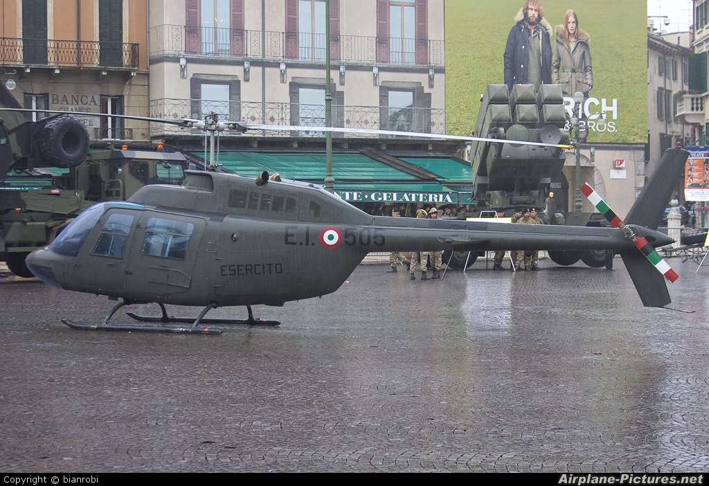 Italy - Army MM80566 aircraft at Off Airport - Italy