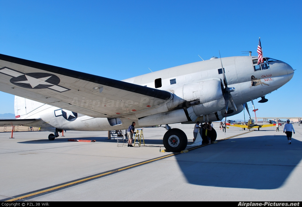 American Airpower Heritage Museum (CAF) N53594 aircraft at Edwards - AFB