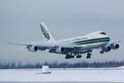 N490EV - Evergreen International Boeing 747-200F aircraft