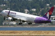 N582HA - Hawaiian Airlines Boeing 767-300ER aircraft