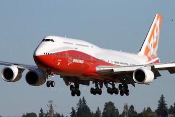 N6067E - Boeing Company Boeing 747-8