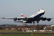 G-GSSD - Global Supply Systems Boeing 747-8F aircraft