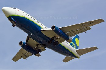 CC-CTK - Sky Airlines (Chile) Boeing 737-200