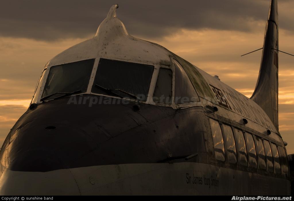 BEA - British European Airways G-ANXB aircraft at Newark Air Museum