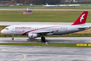 SU-AAB - Air Arabia (Egypt) Airbus A320