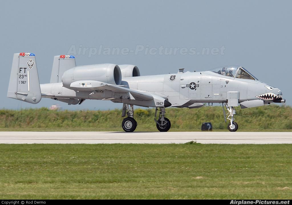 USA - Air Force 81-0967 aircraft at Cleveland - Burke Lakefront