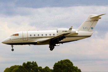 LV-BAS - Private Canadair CL-600 Challenger 600 series