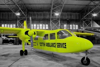 G-BELF - Scottish Ambulance Service Britten-Norman BN-2 Islander