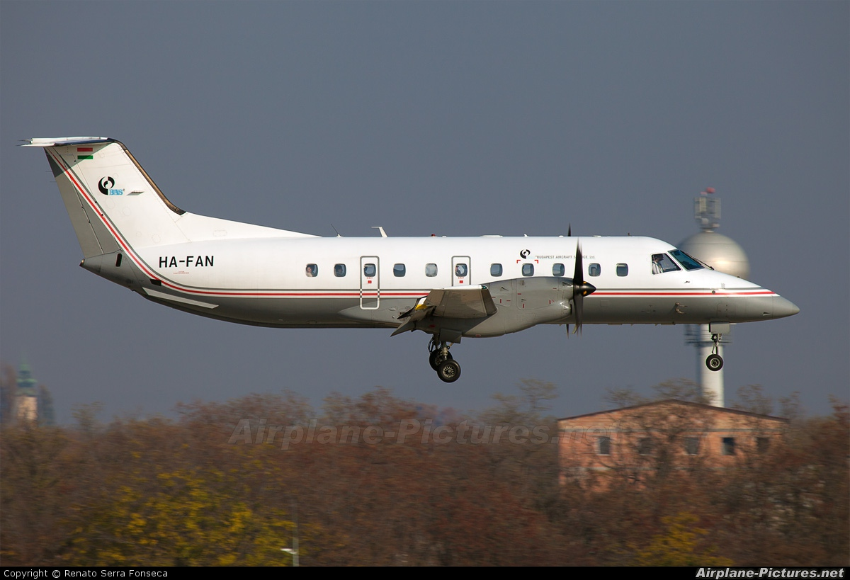 Budapest Aircraft Service HA-FAN aircraft at Budapest Ferenc Liszt International Airport