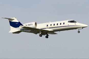 G-SXTY - TAG Aviation Learjet 60