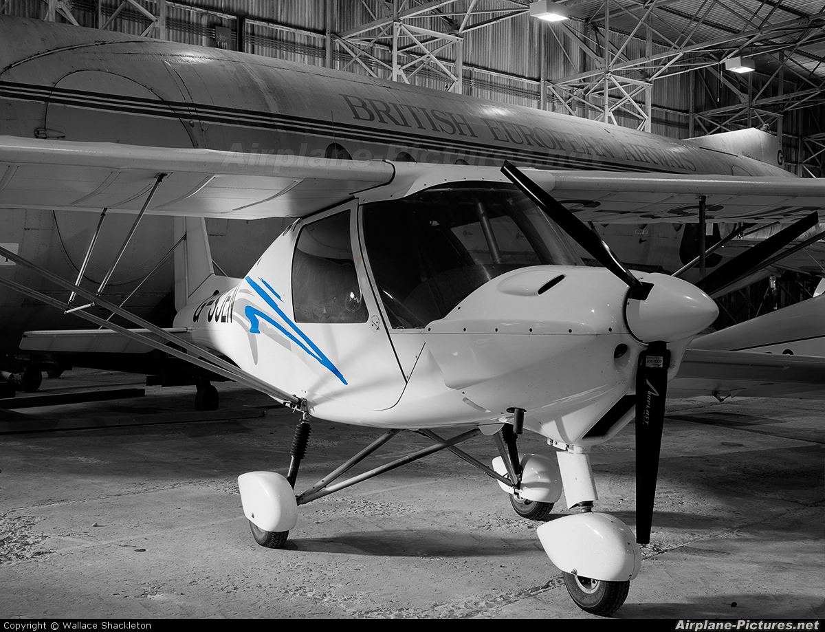 Private G-SJEN aircraft at East Fortune