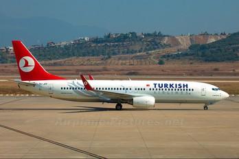 TC-JFF - Turkish Airlines Boeing 737-800