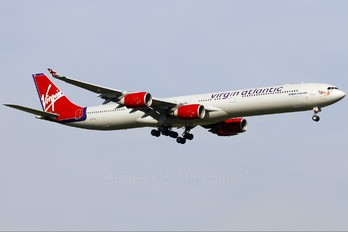 G-VFOX - Virgin Atlantic Airbus A340-600