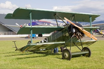 G-CDRX - Private Fokker DR1 Triplane