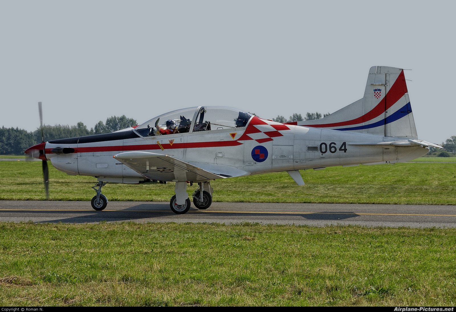 Croatia - Air Force 064 aircraft at Radom - Sadków