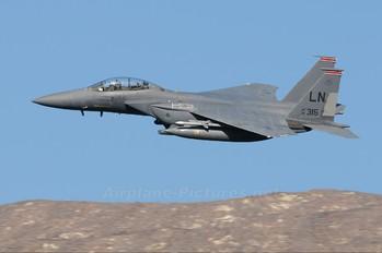 91-0315 - USA - Air Force McDonnell Douglas F-15E Strike Eagle