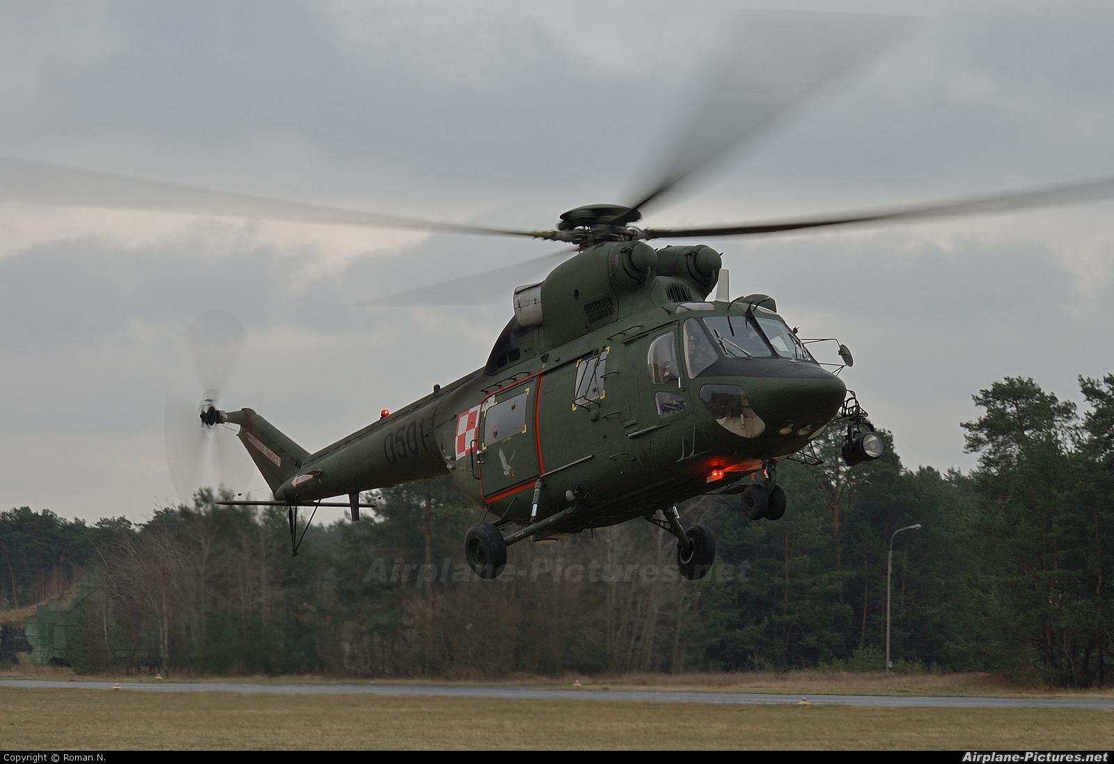 Poland - Air Force 0501 aircraft at Bydgoszcz - Szwederowo