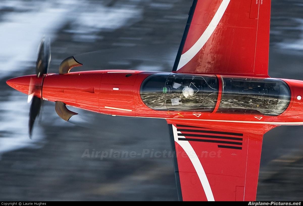 Switzerland - Air Force A-101 aircraft at Axalp - Ebenfluh Range