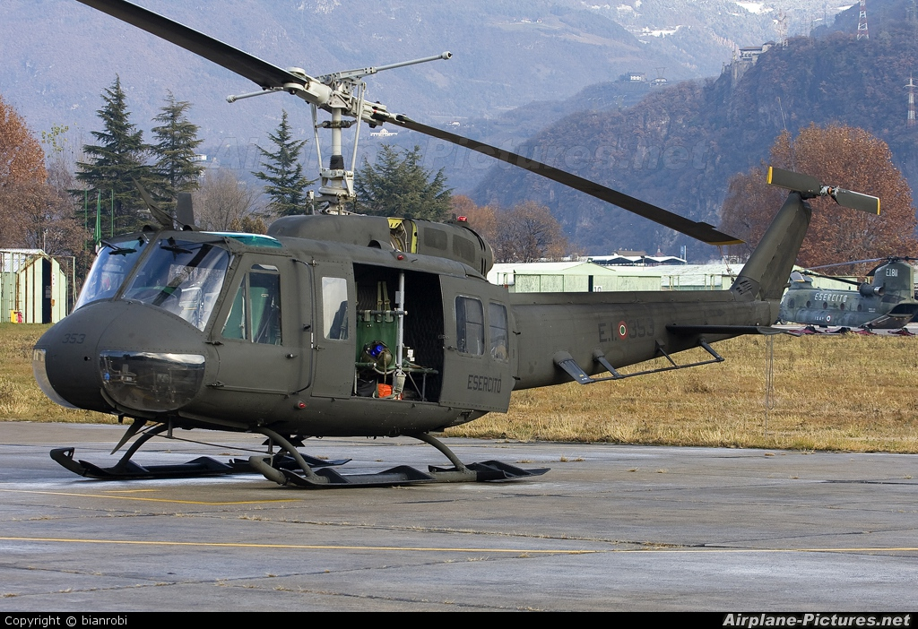 Italy - Army MM80724 aircraft at Bolzano