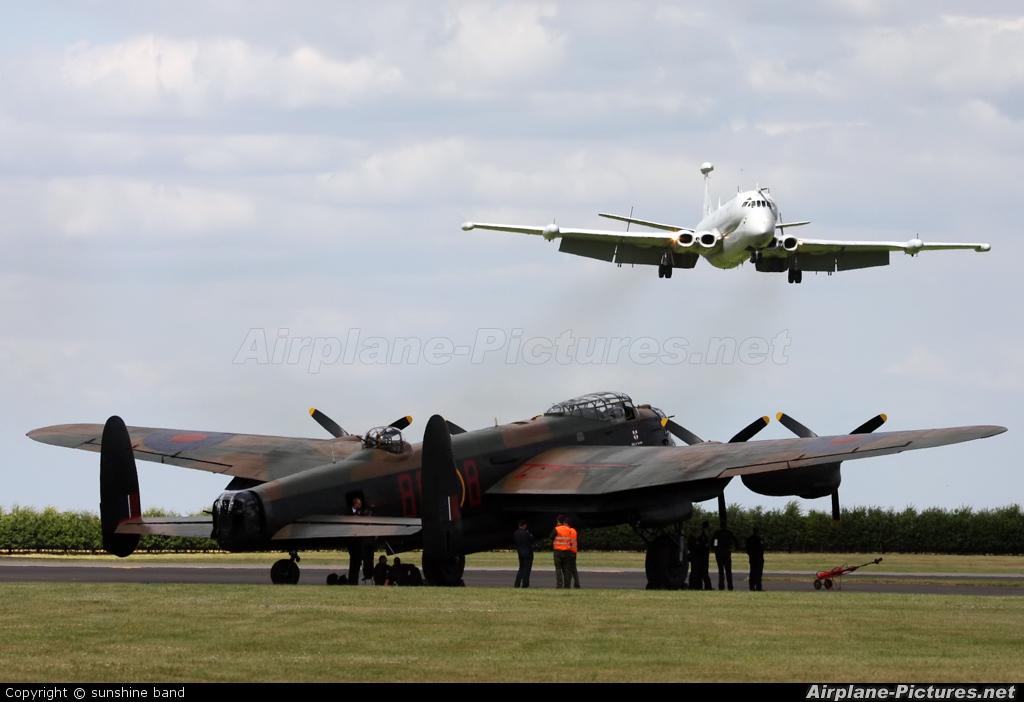 """Royal Air Force """"Battle of Britain Memorial Flight"""" PA474 aircraft at Waddington"""