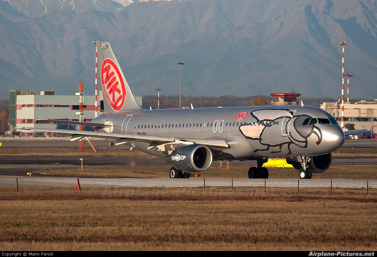 Niki OE-LEH aircraft at Milan - Malpensa