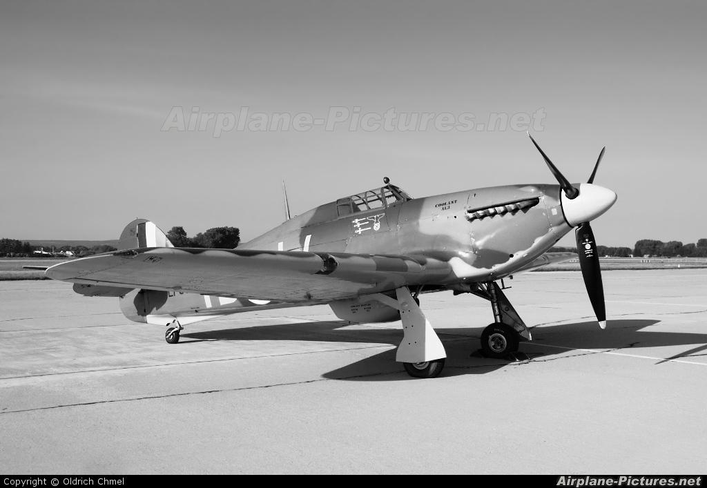 "Royal Air Force ""Battle of Britain Memorial Flight"" LF363 aircraft at Pardubice"