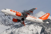 G-EZGN - easyJet Airbus A319 aircraft