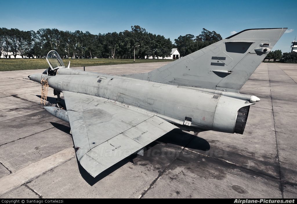 Argentina - Air Force C-630 aircraft at Tandil