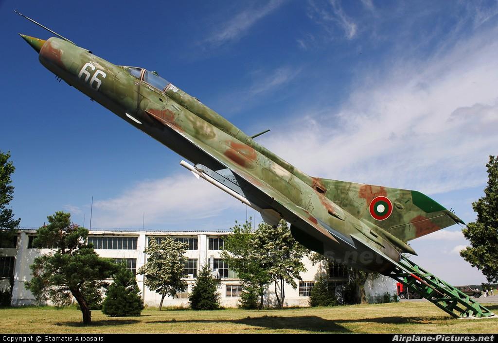 Bulgaria - Air Force 66 aircraft at Graf Ignatievo