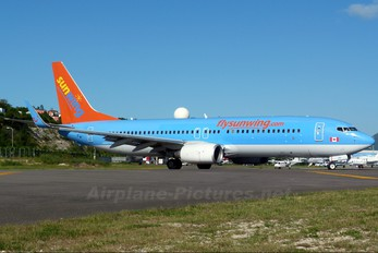 G-FDZD - Sunwing Airlines Boeing 737-800