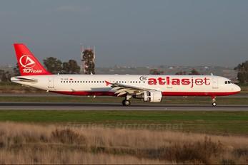 TC-ATE - Atlasjet Airbus A321