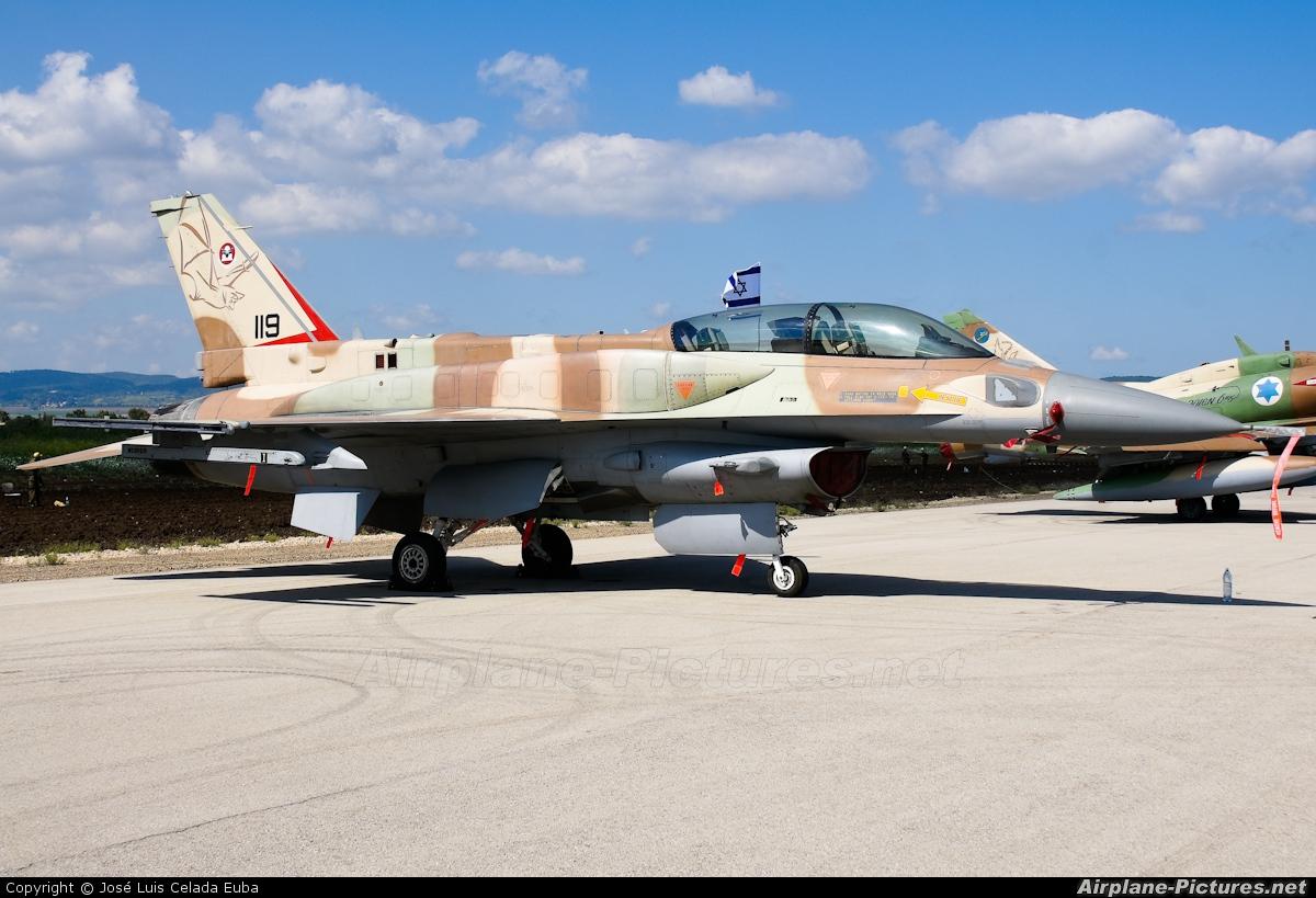 Israel - Defence Force 119 aircraft at Ramat David
