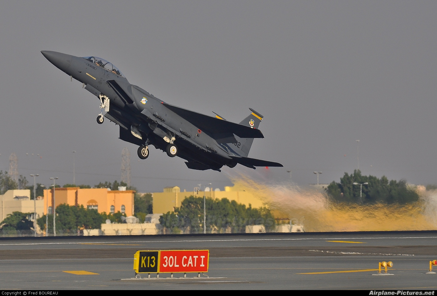 USA - Air Force 88-1682 aircraft at Dubai Intl
