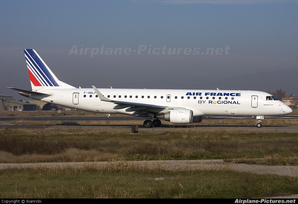 Air France - Regional F-HBLF aircraft at Verona - Villafranca