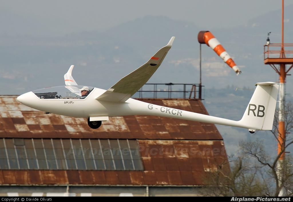 Private G-CKCR aircraft at Verona - Boscomantico